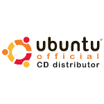 Ubuntu Linux Official CD Distributor Logo